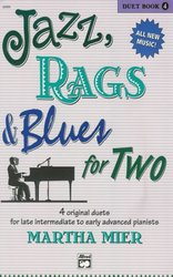 ALFRED PUBLISHING CO.,INC. JAZZ, RAGS&BLUES FOR TWO 4 - 1 piano 4 hands