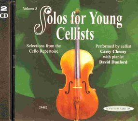 SOLOS FOR YOUNG CELLISTS 5 - CD s klavírním doprovodem