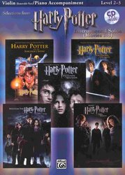 ALFRED PUBLISHING CO.,INC. HARRY POTTER - selections from movies 1-5 + CD / housle a klaví