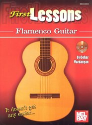 FIRST LESSONS - FLAMENCO GUITAR + Audio Online / kytara + tabulatura