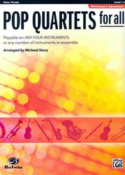 POP QUARTETS FOR ALL (Revised and Updated) level 1-4  //  flétna/pikola