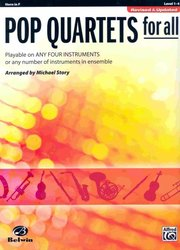 POP QUARTETS FOR ALL (Revised and Updated) level 1-4 //  lesní roh (horn in F)