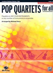 Belwin-Mills Publishing Corp. POP QUARTETS FOR ALL (Revised and Updated) level 1-4  //  tr