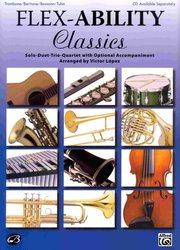 ALFRED PUBLISHING CO.,INC. FLEX-ABILITY CLASSICS / trombon/bariton/tuba