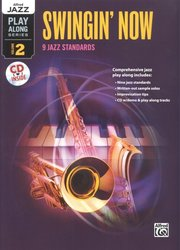 ALFRED PUBLISHING CO.,INC. Alfred Jazz Play Along 2 - Swingin' Now + CD