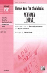 Thank you for the Music (from Mamma Mia) / SATB* a cappella