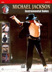 ALFRED PUBLISHING CO.,INC. Michael Jackson - Instrumental Solos + CD / příčná flétna