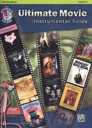 ULTIMATE MOVIE Instrumental Solos + CD / altový saxofon + klavír (PDF)
