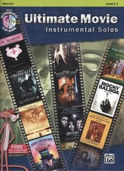 ULTIMATE MOVIE Instrumental Solos + CD / lesní roh (f horn) + klavír (PDF)
