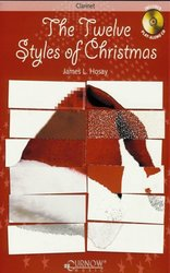 THE TWELVE STYLES OF CHRISTMAS + CD / klarinet