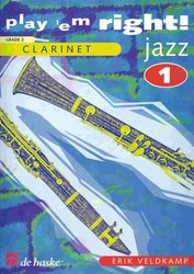 Hal Leonard MGB Distribution PLAY 'EM RIGHT JAZZ  v.1    klarinet