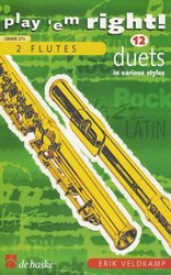 PLAY 'EM RIGHT!  -  12 DUETS    flutes
