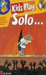 Hal Leonard MGB Distribution KIDS PLAY SOLO ...  + CD / altový saxofon