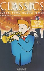 CURNOW MUSIC PRESS, Inc. CLASSICS FOR YOUNG PLAYERS + CD / trumpeta