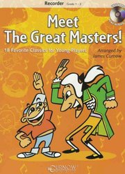 CURNOW MUSIC PRESS, Inc. MEET THE GREAT MASTERS! + CD  recorder