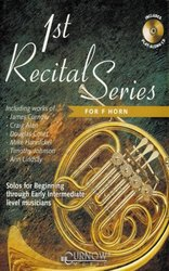 CURNOW MUSIC PRESS, Inc. 1st RECITAL SERIES + CD  lesní roh (f horn)