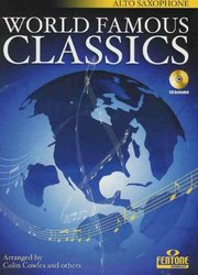Fentone Music WORLD FAMOUS CLASSICS + CD / alto saxofon