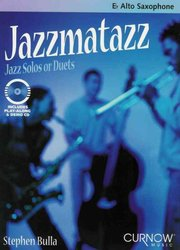CURNOW MUSIC PRESS, Inc. JAZZMATAZZ + CD  alto sax duets