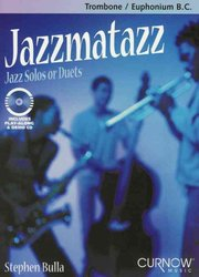 CURNOW MUSIC PRESS, Inc. JAZZMATAZZ + CD  trombone duets