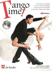 TANGO TIME ! + CD (position 1) / housle