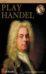 PLAY HANDEL + CD   klarinet