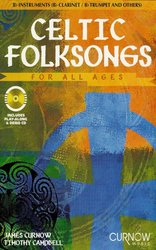 CELTIC FOLKSONGS FOR ALL AGES + CD  Bb nástroje