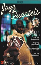 Hal Leonard MGB Distribution JAZZ QUARTETS + CD   flute quartets