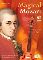 MAGICAL MOZART + CD / housle + klavír