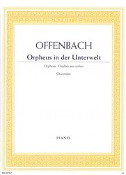 ORPHEUS IN THE UNDERWORLD (Ouverture) by J.Offenbach   piano