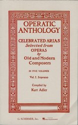 OPERATIC ANTHOLOGY 1 - SOPRANO