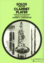 SCHIRMER, Inc. Solos for the Clarinet Player / klarinet + piano
