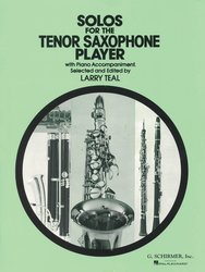 Solos for the Tenor Saxophone Player / tenor saxofon + klavír