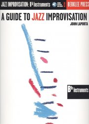 A Guide To Jazz Improvisation + Audio Online / Bb nástroje