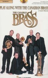 Play Along with the Canadian Brass (easy) + CD  trombon