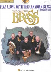 Play Along with the Canadian Brass (intermediate) + CD trumpeta 1