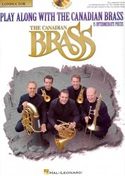 Play Along with the Canadian Brass (intermediate) + Audio Online / partitura