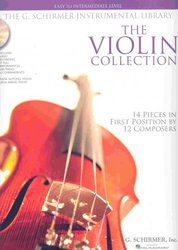 SCHIRMER, Inc. THE VIOLIN COLLECTION (easy - intermediate) + Audio Online / housle + klaví