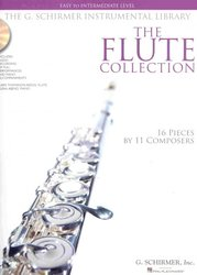 THE FLUTE COLLECTION (easy - intermediate) + Audio Online / příčná flétna + klavír