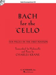 BACH for the CELLO + CD / violoncello & klavír