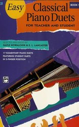 ALFRED PUBLISHING CO.,INC. EASY CLASSICAL PIANO DUETS 1  -   Teacher and Student