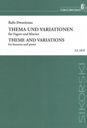 Theme and Variations by Balis Dwarionas / fagot a klavír