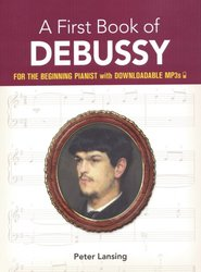 DOVER PUBLICATIONS A First Book of DEBUSSY + Audio Online / easy piano