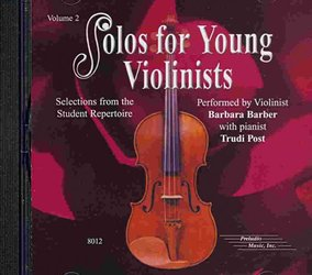 SOLOS FOR YOUNG VIOLINISTS 2 - CD s klavírním doprovodem