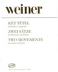 Two Movements by Leo Weiner          klarinet & piano