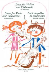 DUETS FOR VIOLIN & VIOLONCELLO for beginners / dueta pro housle a violoncello