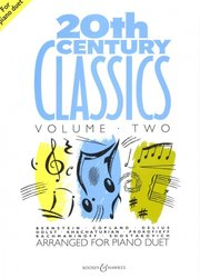 20th CENTURY CLASSICS 2 for piano duet / 1 klavír 4 ruce