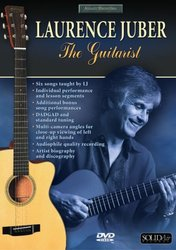 eNoty LAURENCE JUBER THE GUITARIST DVD