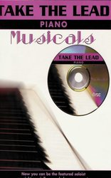 TAKE THE LEAD MUSICALS + CD / piano