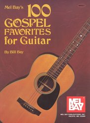 100 Gospel Favorites for Guitar / zpěv (dvojhlas) s doprovodem kytary