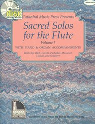 SACRED SOLOS FOR THE FLUTE 1 + CD / příčná flétna + klavír